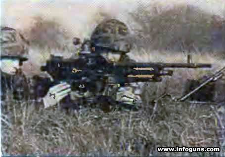 Единые пулеметы GPMG  L7A1  и  L7A2